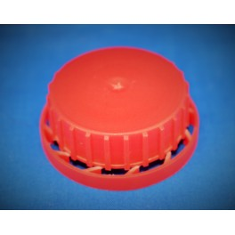 40 mm. Kapsel rød m. FS f. 40 mm. dunke