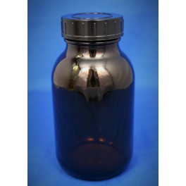 Gevindglas brun 500 ml