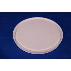 92 mm. Låg f. plastbøtte PP Hvid