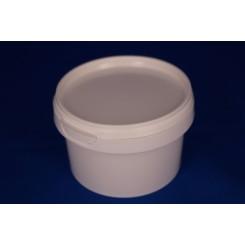 280 ml. Plastbøtte PP natur FS f. 92 mm. låg