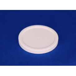 44 mm. Låg f. plastbøtte PP Hvid