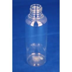 100 ml. Kosmetikflaske høj klar f. 20 mm.