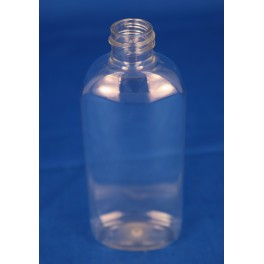 50 ml. kosmetikflaske oval klar f. 20mm UDGÃ…R