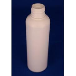 150 ml. kosmetikflaske hvid høj f. 24 mm.