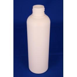 200 ml. kosmetikflaske hvid høj f. 24 mm.