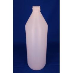 1000 ml Plastflaske rund PE natur f. 28 mm