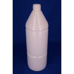 1000 ml Plastflaske rund PET hvid f. 28 mm