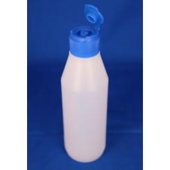 28 mm. Kapsel PP blå m. klap