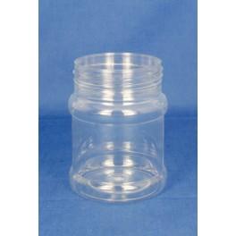 230 ml. PET Dåse rund klar f. 63 mm. S
