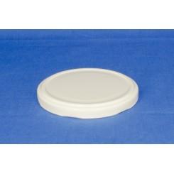 Metallåg f. Konservesglas 82 mm Hvid