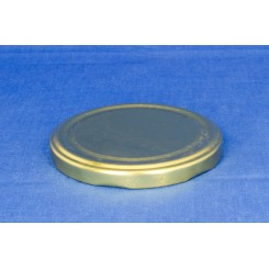 Metallåg f. Konservesglas 82 mm Guld