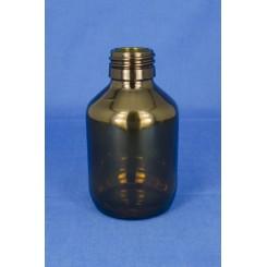 Medicinflaske brun 125 ml PP28