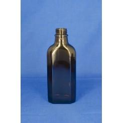 Meplatflaske Brun 100 ml.