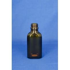 Meplatflaske Brun 50 ml.