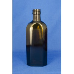 Meplatflaske Brun 250 ml.
