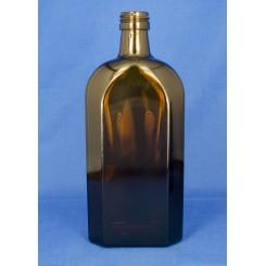 Meplatflaske Brun 500 ml.