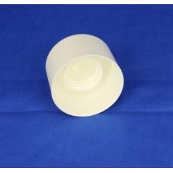22 mm. Kapsel med indsats full size hvid