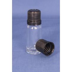 18 mm. kapsel m. klar hældering og FS sort