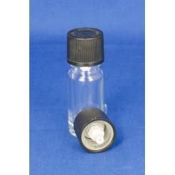 18 mm. kapsel m. hvid dråbeindsats og BS sort