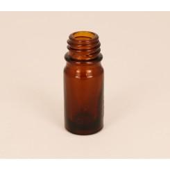 Dråbeflaske brun 5 ml.