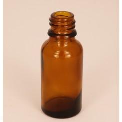 Dråbeflaske brun 20 ml.