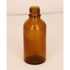 Dråbeflaske brun 50 ml.