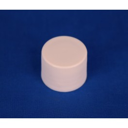 20 mm. kapsel m. indsats hvid