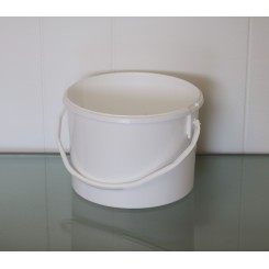 3 liter Spand PP Hvid f. 194 mm. PH