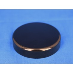 Låg sort f. salveglas 53 mm.