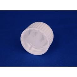 28 mm kapsel m. hældering hvid