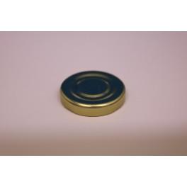 Metallåg f. Konservesglas 43 mm guld