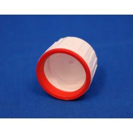 28 mm Ropp Kapsel PP Hvid m. PE indsats og FS