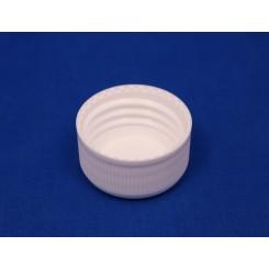 32 mm. Kapsel PP hvid m. konus