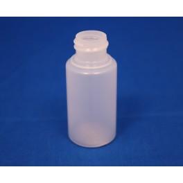 30 ml. kosmetikflaske rund frosted f. 2041