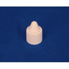 15 mm. Kapsel PP hvid spids inkl indsats