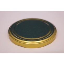 Metallåg f. Konservesglas 70 mm guld