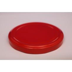 Metallåg f. Konservesglas 82 mm Rød
