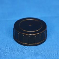 Låg sort 32 mm. F. gevindglas