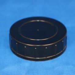 Låg sort 55 mm. F. gevindglas