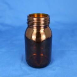 Gevindglas brun 150 ml