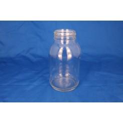 Gevindglas klar 500 ml