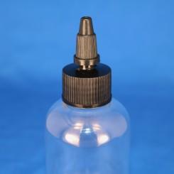 24 mm. spidskapsel sort