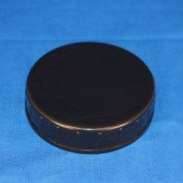 Låg sort 68 mm. F. gevindglas