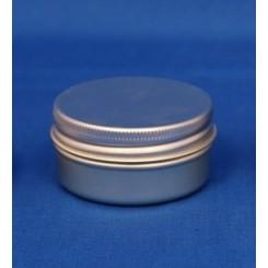 30 ml. aluminiumsdåse incl. låg