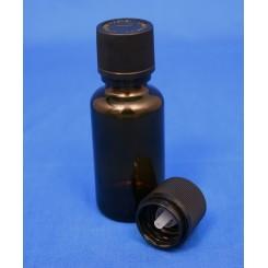 18 mm. kapsel med klar indsats og FS+BS sort