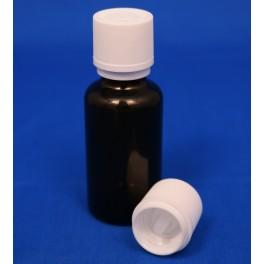 18 mm. kapsel med klar indsats og FS+BS hvid