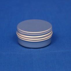 15 ml. aluminiumsdåse incl. låg