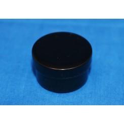 5 ml. cremekrukke enkeltvæg komplet sort