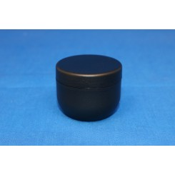 30 ml. cremekrukke enkeltvæg komplet sort