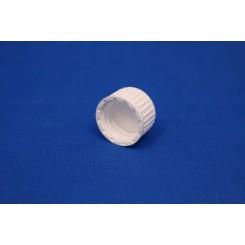 18 mm. Kapsel m. liner hvid